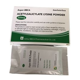 China Lysin Acetylsalicylate-Pulver Aspirin-DL-Lysinpulver 0.225g usine